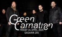 GREEN CARNATION live in Athens! 24/04/2020 @ Gagarin 205