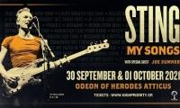 STING   Ηρώδειο   30 Σεπτεμβρίου και 1 Οκτωβρίου 2021
