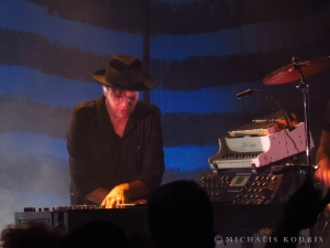 Live review: Trentemøller / T.O.M. And His Computer, 28/2/2014, Gazi Music Hall