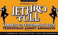 Jethro Tull | Σάββατο 12 Σεπτεμβρίου 2020 | Τεχνόπολη Δήμου Αθηναίων - ΑΚΥΡΩΣΗ